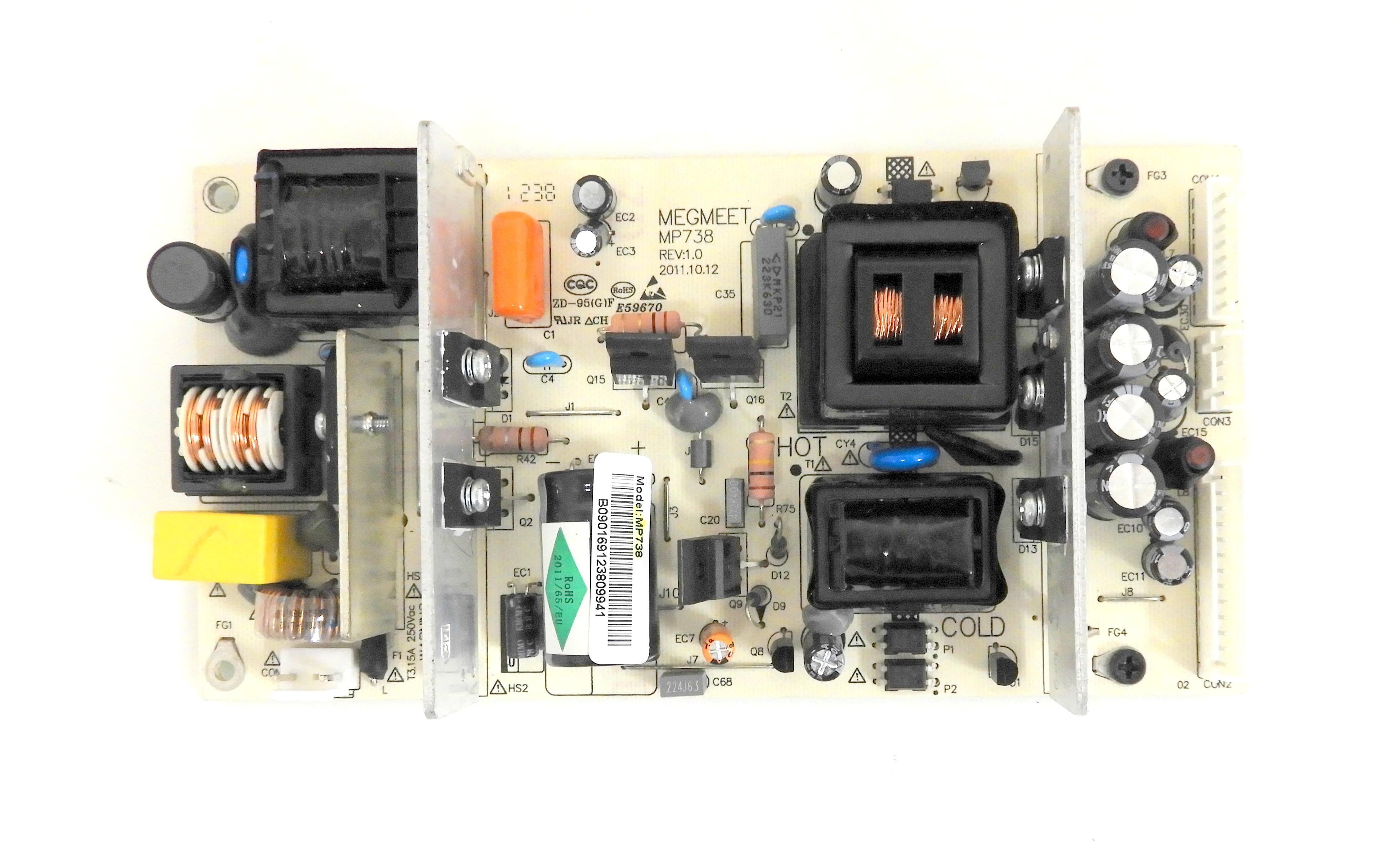 Sceptre X322BV-HD Power Supply Board MP738