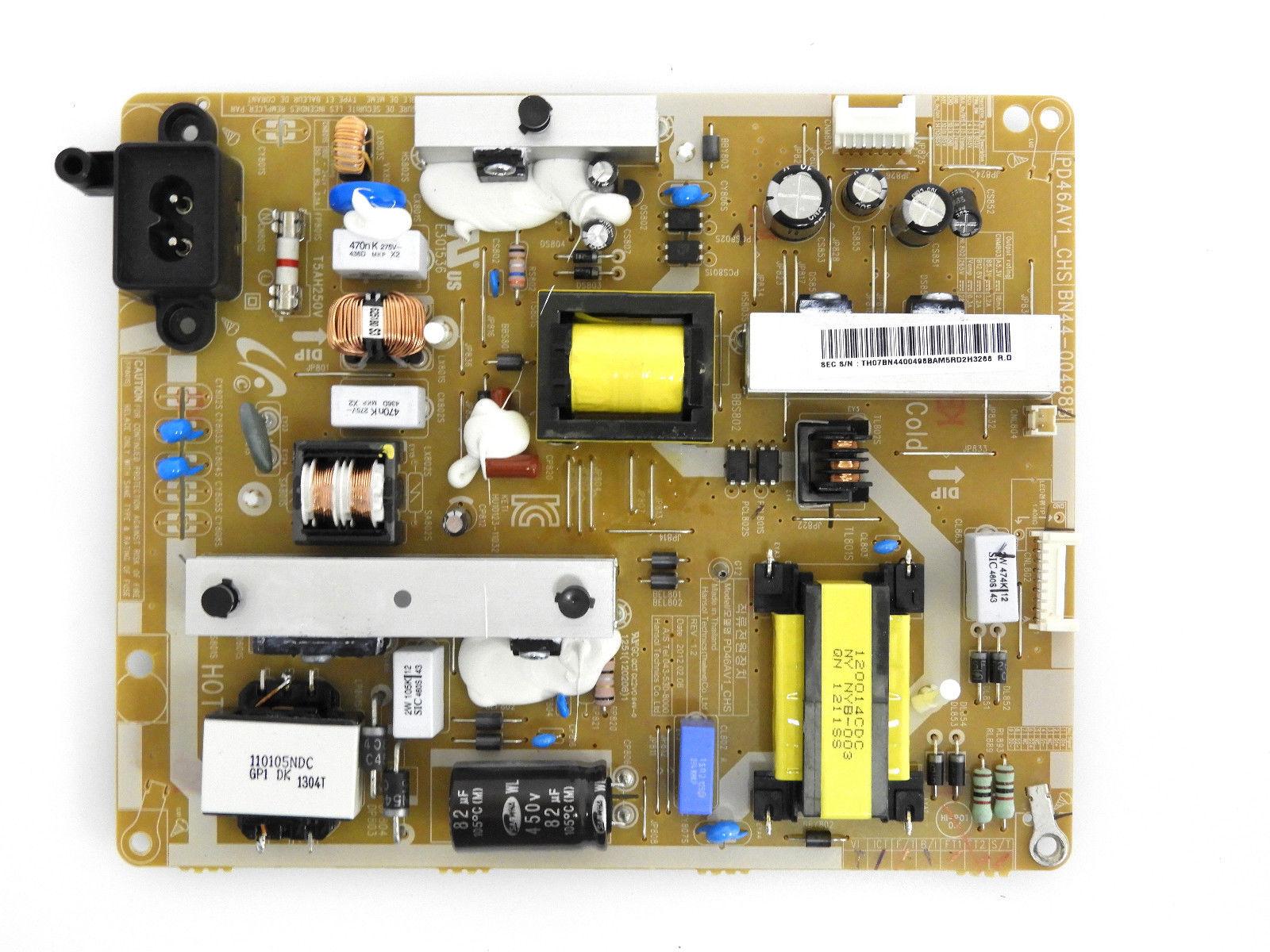 Samsung Un40eh5300f Power Supply Board Bn44 00498b Tv