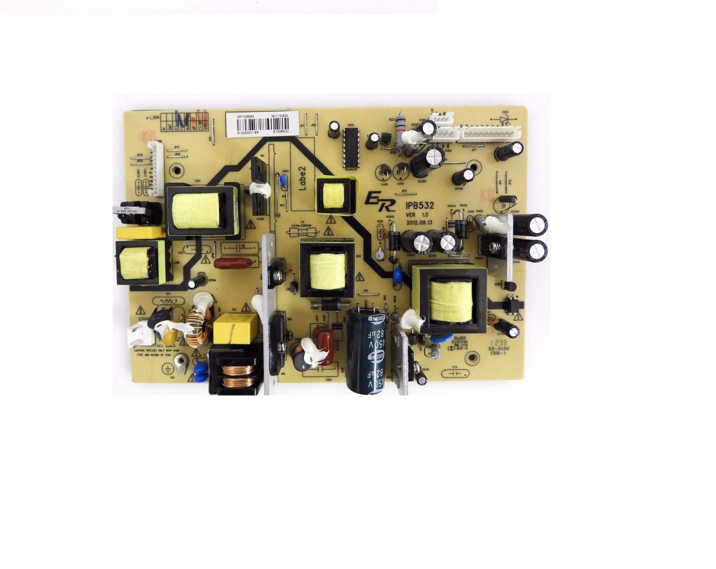 Sceptre X322BV-HD Power Supply Board E1-53200011-ER