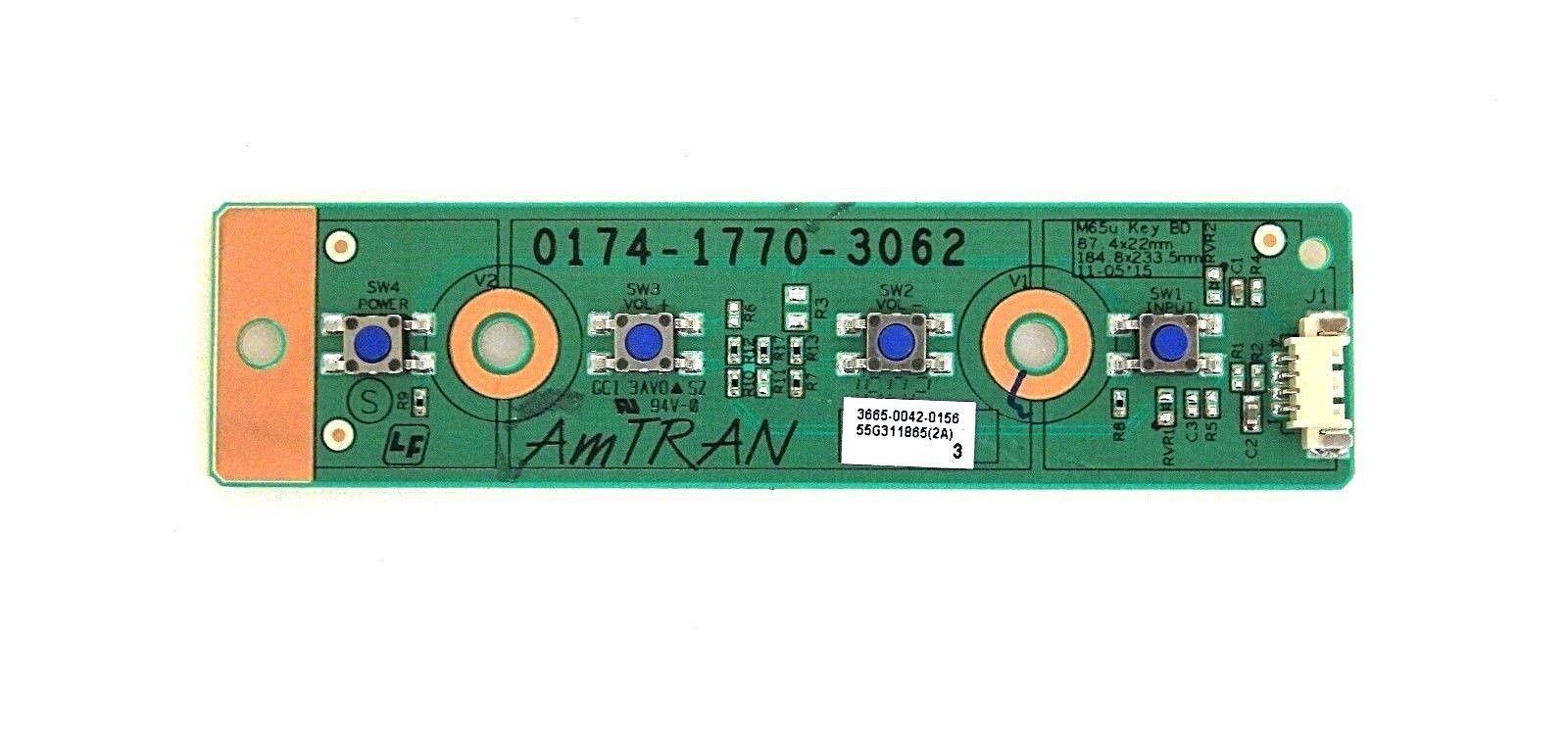 VIZIO E48U-D0 IR SENSOR BOARD 3665-0032-0189