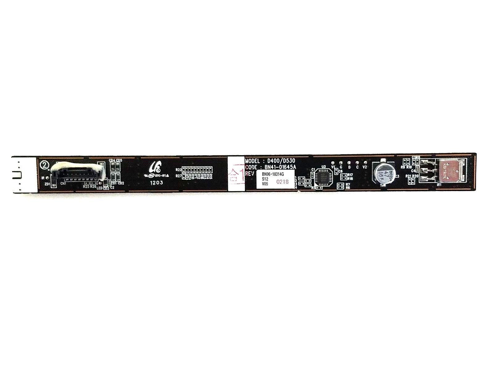 Samsung Ln40e550f7f Key Button Ir Sensor Board Bn96