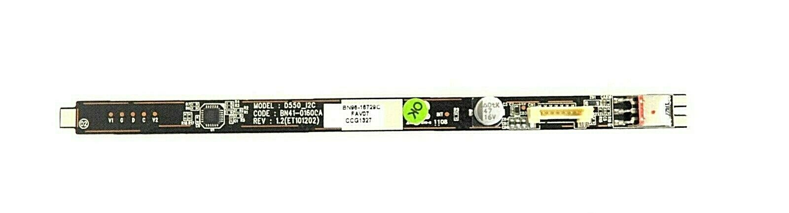 Samsung PN51D550C1F IR Sensor / Button Board BN96-16729C
