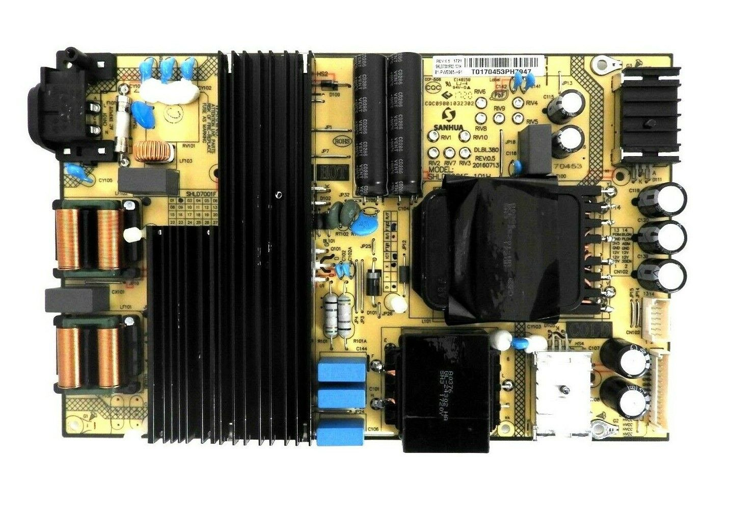 TCL 65S405 Power Supply Board 81-PWE065-H91