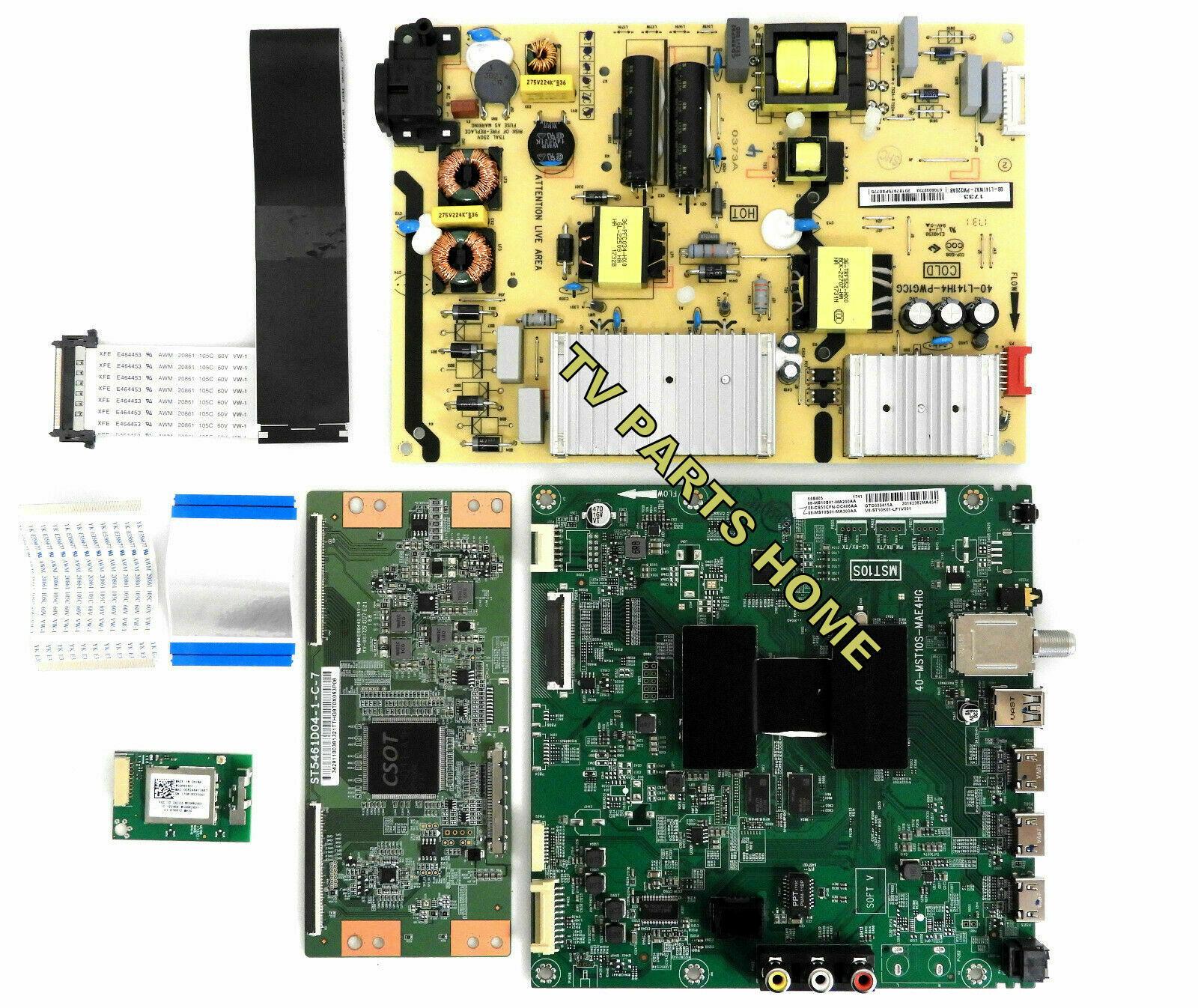 TCL 55S405 , 55S405TBAA TV Boards Set 08-L141WA2-PW220AB, 08-CS55CFN-OC406AA