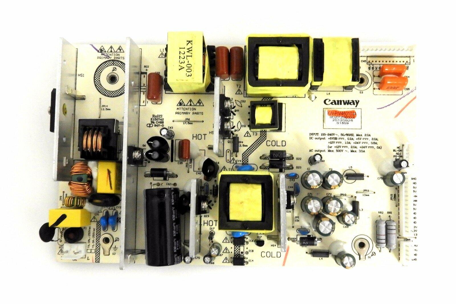 SCEPTRE X505BV-FHDU Power Supply Board KW-PIV460103A