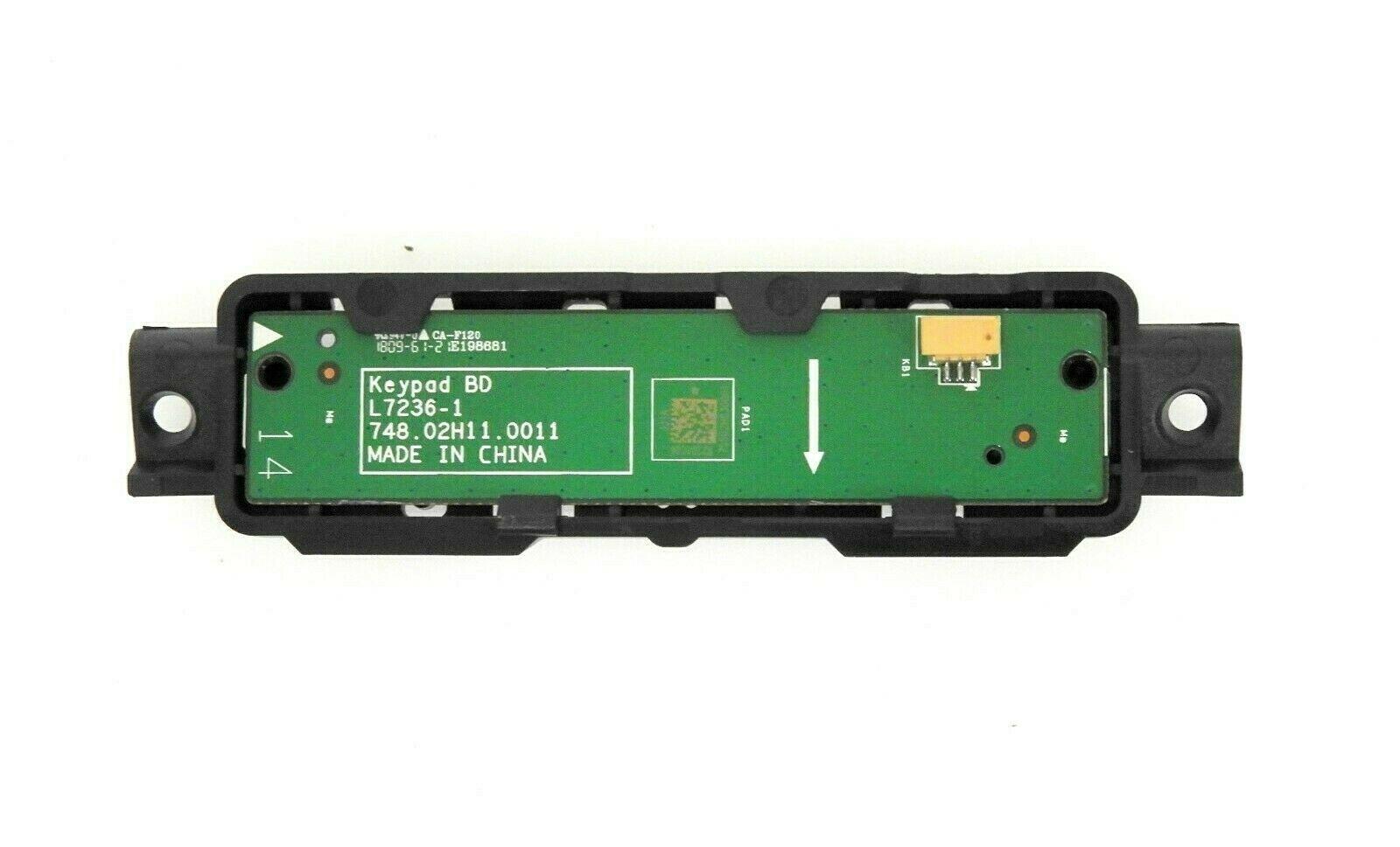 Vizio D55 F2 Button Board 748 02h11 0011 Tv Parts Home